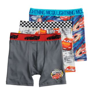 Boys 4-8 Disney / Pixar Cars 3-Pack Boxer Briefs