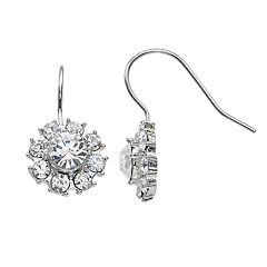 LC Lauren Conrad Nickel Free Flower Drop Earrings
