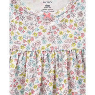Baby Girl Carter's 2-Pack Solid & Floral Dresses
