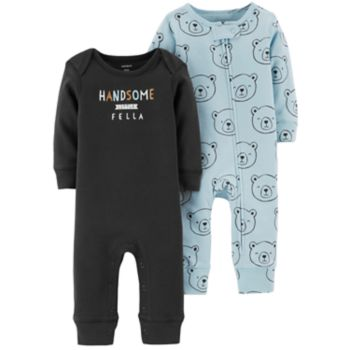 Baby Boy Carter's 2-Pack Graphic & Print Coveralls