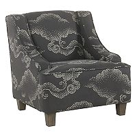 HomePop Kids Swoop Accent Chair