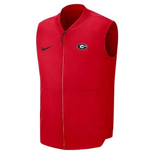 Men's Nike Georgia Bulldogs Coach Vest