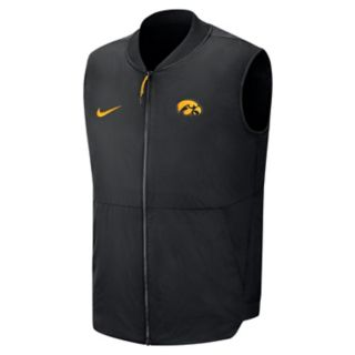 Men's Nike Iowa Hawkeyes Coach Vest