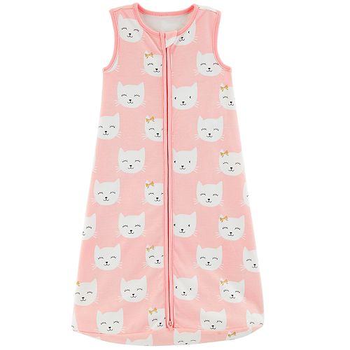 Baby Girl Carter's Kitty Sleep Bag