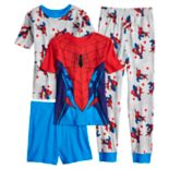 Boys 4-10 Spider-Man 4 pc Pajama Set