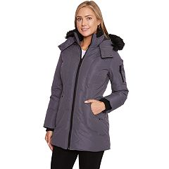 Women's Halitech Faux-Fur Hooded Parka