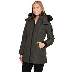 Women's Halitech Faux-Fur Hooded Parka