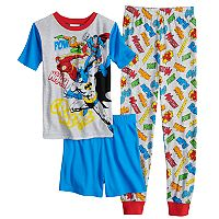 Boys 4-10 Justice League 3 pc Pajama Set