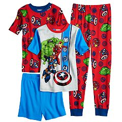 Boys 4-10 Avengers 4 pc Pajama Set