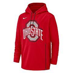 Men's Nike Ohio State Buckeyes Therma Pullover Hoodie