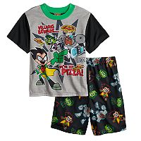 Boys 4-10 Teen Titans 2 pc Pajama Set