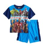 Boys 4-10 Avengers Infinity Wars 2-Piece Pajama Set