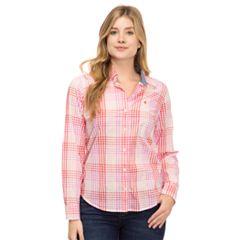 Women's IZOD Essential Button-Down Shirt