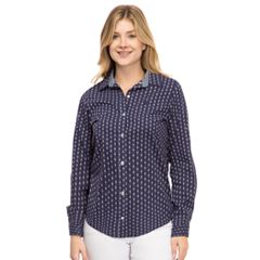 Women's IZOD Essential Button-Down Shirt