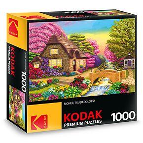 Kodak Premium Puzzles Dream Cottage Retreat 1000-Piece Puzzle