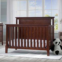 Serta Mid-Century Modern Lifestyle 4-in-1 Convertible Crib