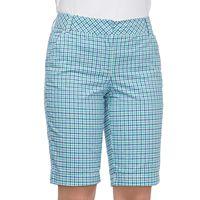 Women's IZOD Plaid Bermuda Shorts
