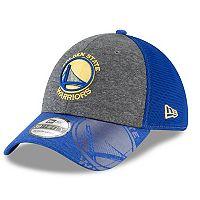 Adult New Era Golden State Warriors 39THIRTY Shadow Gleam Flex-Fit Cap