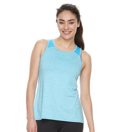 76eabe3980206 Women s FILA SPORT® Melange Mesh Inset Tank