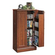 Sauder Audio/Video Storage Cabinet - Cherry