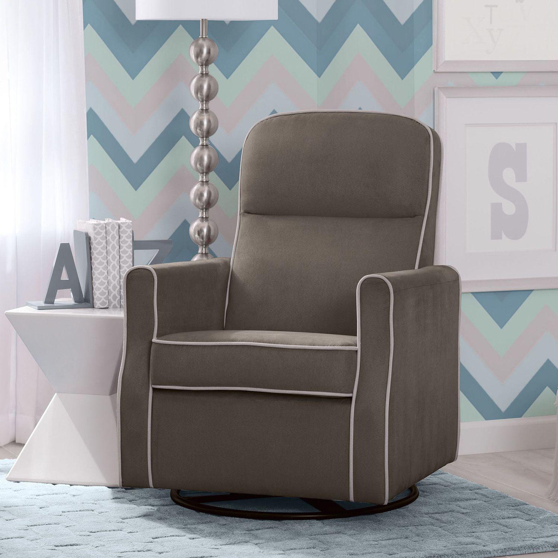 Delta Children Ava Nursery Glider Swivel Rocker Chair. Regular