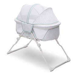 Delta Children EZ Fold Ultra Compact Travel Bassinet