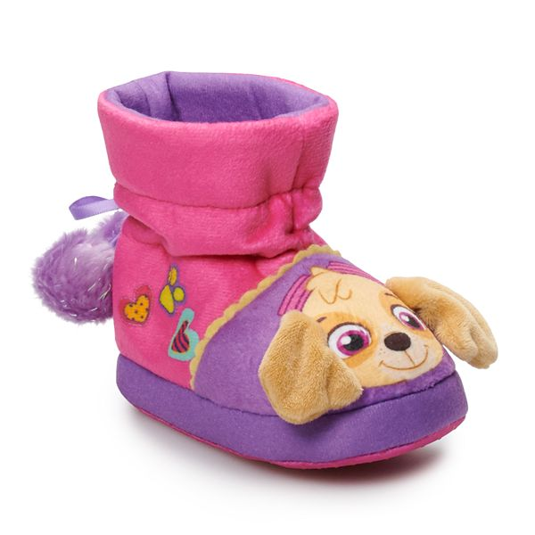 girls slipper boots