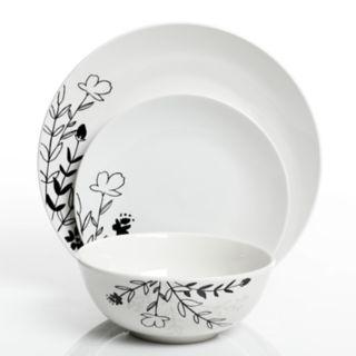 The Big One® Florally 12-piece Dinnerware Set