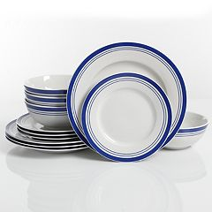 The Big One® Bluebay 12-piece Dinnerware Set