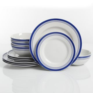 The Big One® Bluebay 12-piece Dinnerware Set