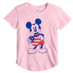 Girls 7-16 Disney's Mickey Mouse Patriotic Tee