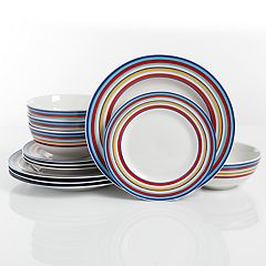 The Big One® Sundaze 12-piece Dinnerware Set