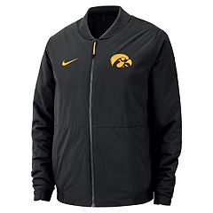 Men's Nike Iowa Hawkeyes Shield Bomber Jacket