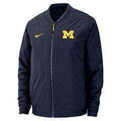 Men's Nike Michigan Wolverines Shield Bomber Jacket