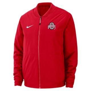 Men's Nike Ohio State Buckeyes Shield Bomber Jacket
