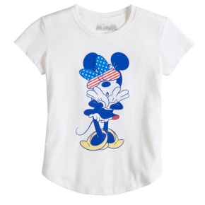Girls 7-16 Disney's Minnie Mouse Oh Tee