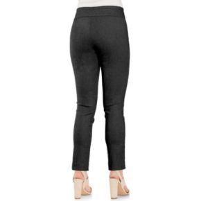 Women's IZOD Everyday Herringbone Slim Pull-On Pants