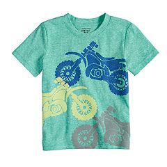 Toddler Boy Jumping Beans® Heathered Softest Graphic Tee