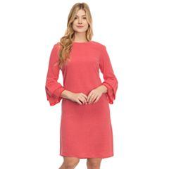 Women's IZOD Tiered Sleeve Linen-Blend Dress