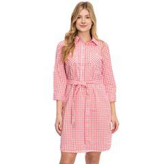 Women's IZOD Shirt Dress