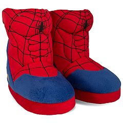 Marvel Spider-Man Toddler Boys' Slipper Boots