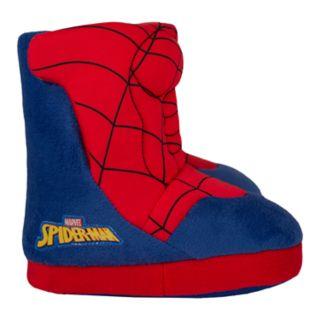 Marvel Spider-Man Toddler Boys' Slipper Boots