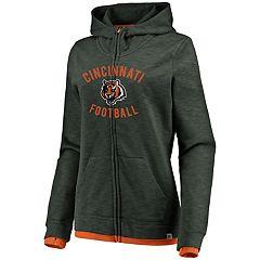 Women's Cincinnati Bengals Hyper Full-Zip Hoodie