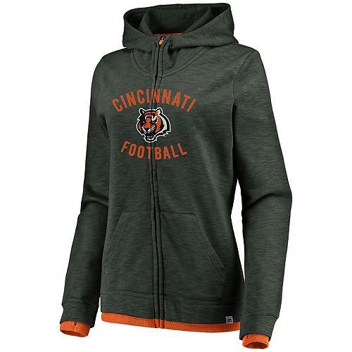 best service cb654 81b83 Women's Cincinnati Bengals Hyper Full-Zip Hoodie