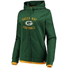 Women's Green Bay Packers Hyper Full-Zip Hoodie