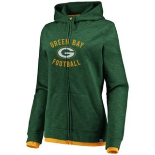 Women's Green Bay Packers Hyper Full-Zip Hoodie