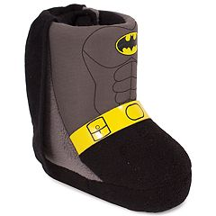 DC Comics Batman Toddler Boys' Slipper Boots