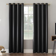 Sun Zero Blackout 1-Panel Norway Theater Grade Window Curtain