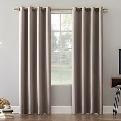 Sun Zero Blackout 1-Panel Extreme Norway Theater Grade Window Curtain
