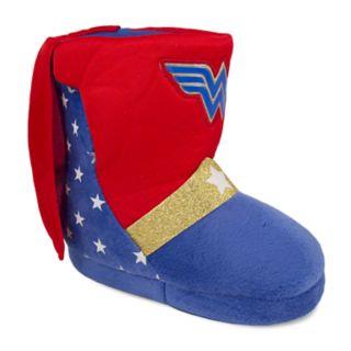 DC Comics Wonder Woman Toddler Girls' Slipper Boots